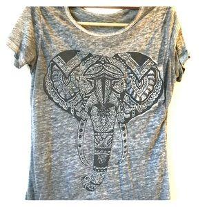 Elephant tribal tee